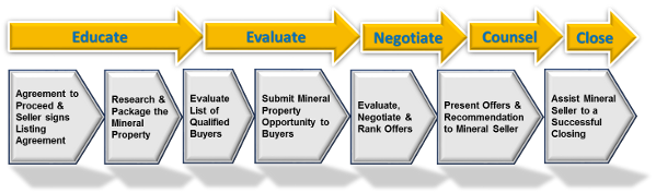 Mineral Property Sales Process